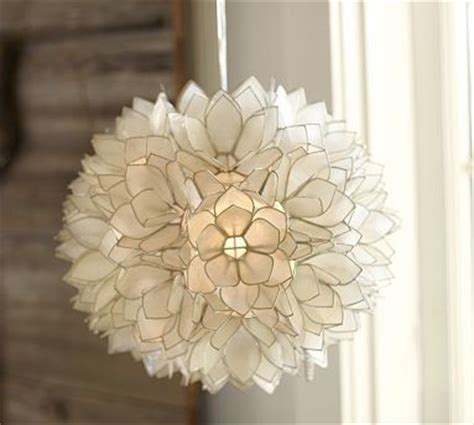 capiz flower pendant traditional pendant lighting by
