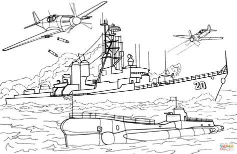 Army Punt Boat by Ausmalbild Zerst 246 Rer Charles Ausmalbilder