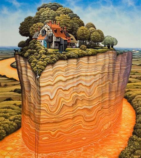 Amazing Surreal Paintings by a Polish Artist Jacek Yerka