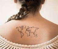 Best World Map Tattoo - ideas and images on Bing | Find what you\'ll love