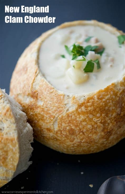 New England Clam Chowder - Carrie's Experimental Kitchen