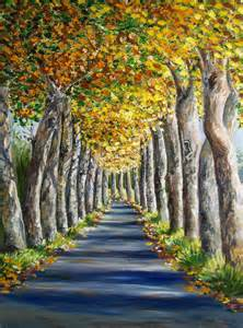 Famous Oil Painting Tree