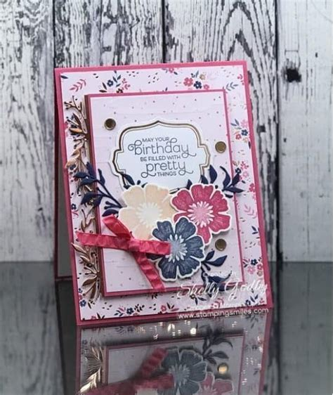 shelly godby author  stamping smiles birthday card