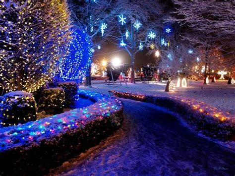 La Salette Shrine Christmas Festival Of Lights By Pc