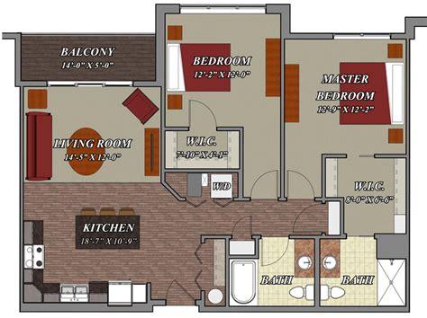 2 Bedroom Apartments 800 by 2 Bedroom 2 Bathroom Apartments Home Design
