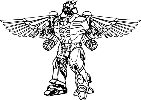 Power Rangers Megazord Coloring Pages Download