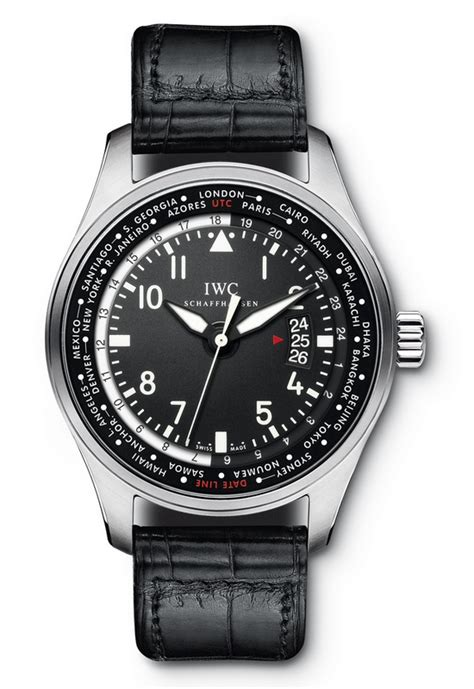 IWC - Pilot's Watch Worldtimer | Time and Watches | The ...