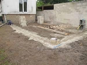 fondation des maisons en bois With profondeur de fondation maison