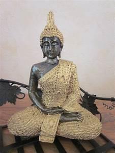 Statue De Bouddha : statue bouddha hindou dor e statues bouddhas ~ Teatrodelosmanantiales.com Idées de Décoration