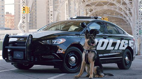 Cop Cars by Ford Unveils A New Hybrid Car For High Speed Chases
