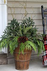 How, To, Make, Winter, Porch, Pots, U2022, House, Of, Hawthornes