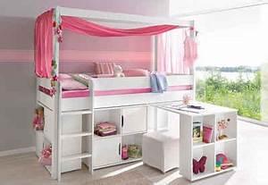 Doppelbett Für Kinder : halbhohes bett 4 tlg kinderzimmer ~ Lateststills.com Haus und Dekorationen
