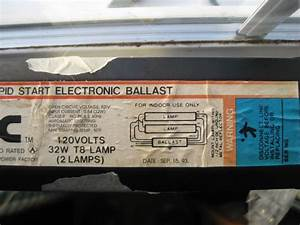 Help Replacing A T8 Ballast