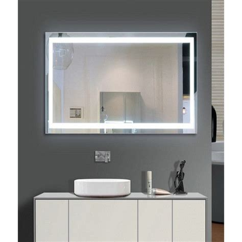 Small Illuminated Bathroom Mirrors by Harmony Illuminated Small Led Mirror Harmony Illuminated