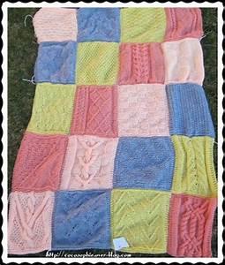 Tricoter Un Plaid En Grosse Laine : plaid au tricot assemblage 1 cocosophie ~ Melissatoandfro.com Idées de Décoration