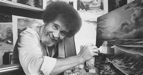 A Biography Of Bob Ross, The Man Behind The Happy Little Trees