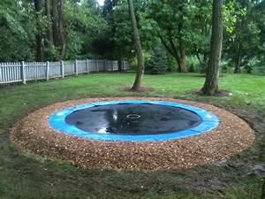 In Ground Trampolin : 17 best ideas about in ground trampoline on pinterest ground trampoline sunken trampoline and ~ Orissabook.com Haus und Dekorationen