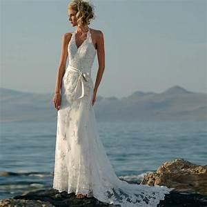 Romantic wedding dresses lace wedding inspiration for Romantic beach wedding dresses