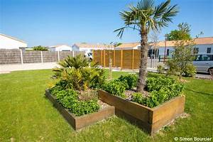 amenagement d39un jardin au fenouiller en vendee paysalis With amenagement de jardin photos