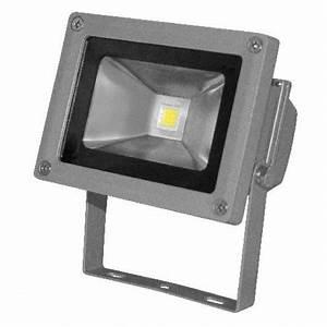 Projecteur Led Exterieur Puissant : projecteur led exterieur 10w blanc froid lumihome ~ Nature-et-papiers.com Idées de Décoration
