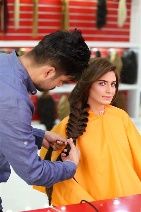 kashees hair style extension kashees aslam beauty parlor