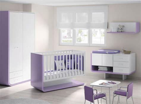 rossa moebel ideen babyzimmer komplett weiss lila modern
