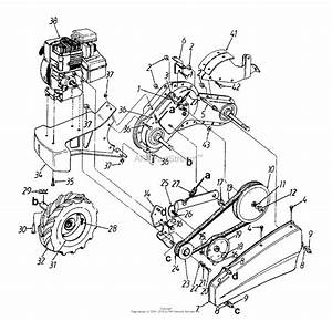 Mtd 21aa414a033  2001  Parts Diagram For Drive