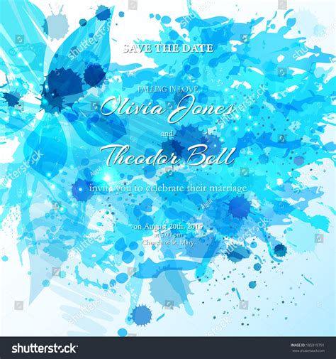 wedding card invitation abstract background elegant stock