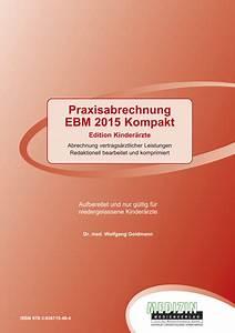 Abrechnung Kv : buch neuerscheinung ebm kompakt ausgabe f r kinder und jugend rzte ~ Themetempest.com Abrechnung