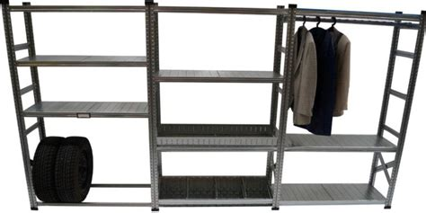 Home Depot Canada Decorative Shelves by Metalsistem Heavy Duty Garage Shelving Kit With