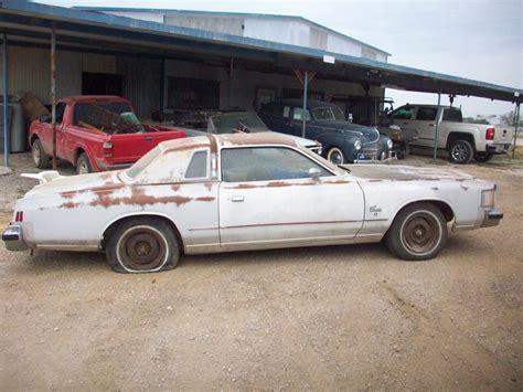 Chrysler Parts by Ctc Auto Ranch Mopar Cordoba Magnum Mirada Parts Cars