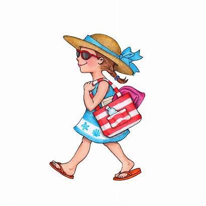Susan Fitch Summer Activity Beach Days Clip