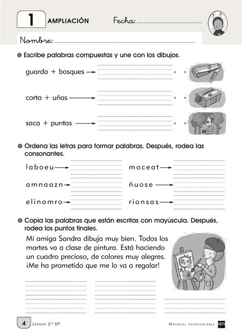 Calaméo Ampliacion lengua SM 1 15 sm