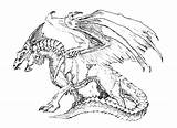 Dragon Advanced Coloring Pages Hard Dragons Getdrawings sketch template