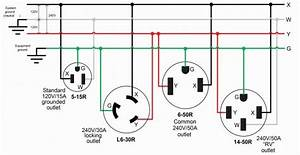 Rv 50 Amp Plug Diagram