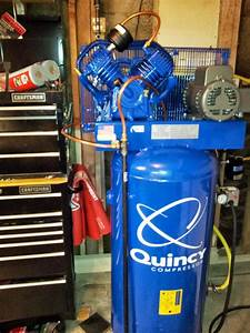 New Air Compressor Finished