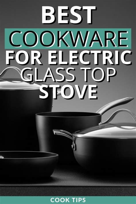 cookware glass stoves electric