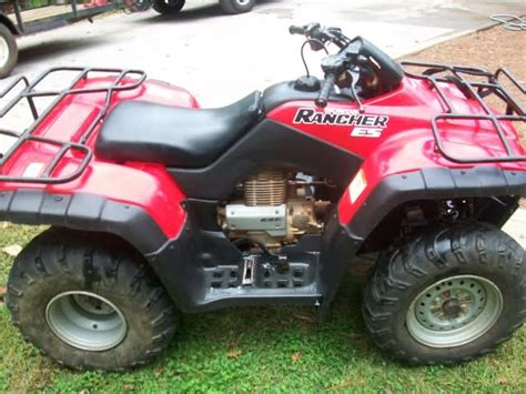 2001 honda rancher 350es 4x2 the outdoors trader