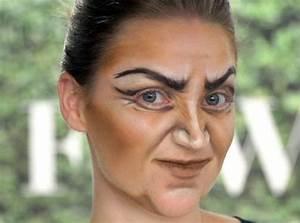 Gruselige Hexe Schminken : die 25 besten ideen zu hexe schminken auf pinterest hexe schminken sch ne hexen make up und ~ Frokenaadalensverden.com Haus und Dekorationen