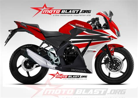 Modif Striping New Cb150r Hitam Merah by Modifikasi Motor Cbr Warna Putih Kumpulan Modifikasi