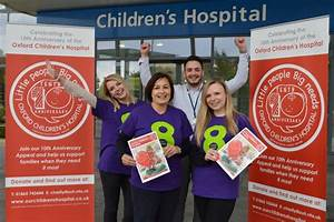 Oxford Children's Hospital, our charity of the year for 2017