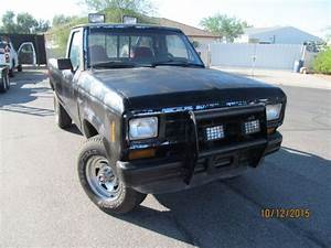 1986 Ford Ranger 4x4 Single Cab Manual Arizona Ranch Truck