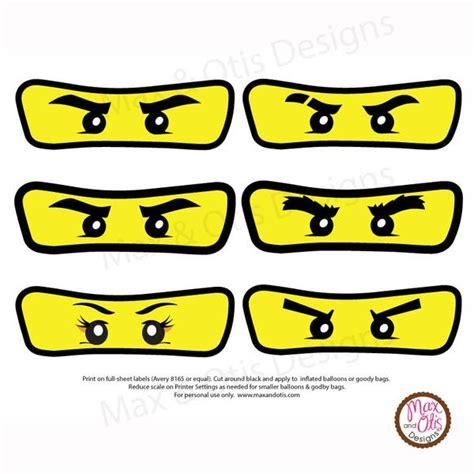 B schlau wie ein fuchs. Ninjago Balloon Stickers - Max & Otis Designs