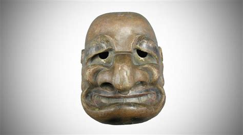 Le Masque Du Démon Japonais Sosie De Jacques Chirac Arrive