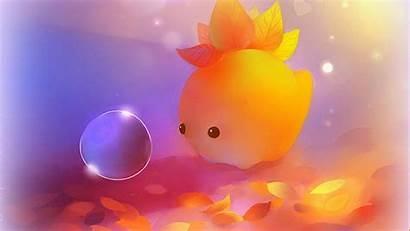 Wallpapers Backgrounds 3d Autumn Dino Kawaii Desktop