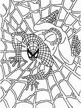 Spiderman Coloring Colouring Printable Sheets Spider Boys sketch template