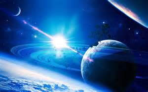 Blue Giant Star Planet