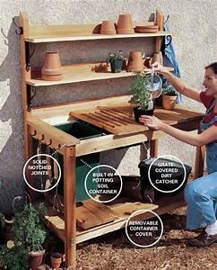 PDF DIY Cedar Potting Bench Plans Download cedar pergola