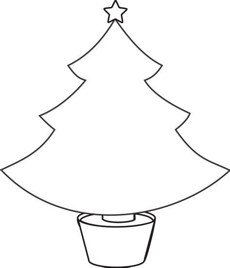 clipart christmas tree outline google search christmas