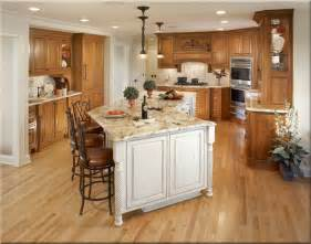 kitchen remodeling island kitchen gorgeous kitchen design with brown oak wooden kitchen cabinet complete with white island
